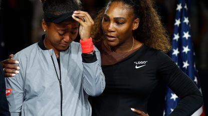 Wat Serena Williams fluisterde in het oor van Naomi Osaka, voor wie Adidas absoluut recordbedrag wil neertellen
