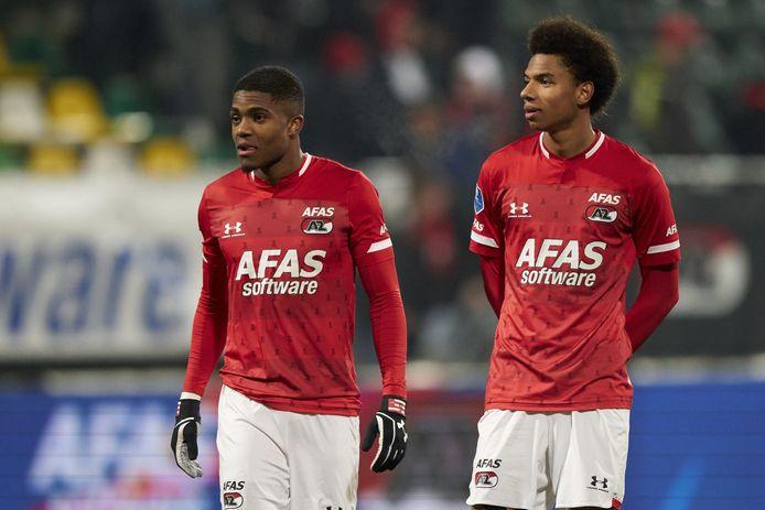 Myron Boadu en Calvin Stengs
