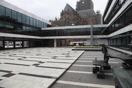 Het gemeentehuis van Arnhem.