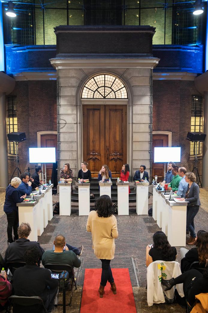 Het Haags Jeugdbeleid debat in De Glazen Zaal.