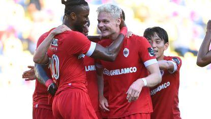 Juklerod loodst tienkoppig Antwerp met twee goals en een assist voorbij STVV