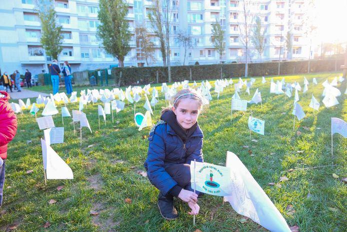Actie voor het behouden van het Bloementuinpark