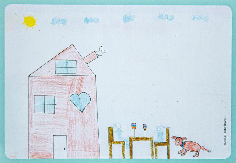 Het geboortekaartje van het Huis van het Kind.