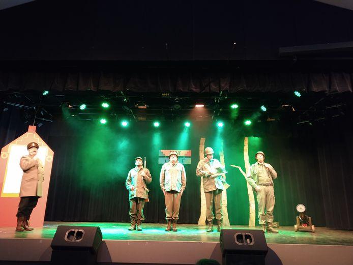 Ut Groot bij Zannikaovend Heusden - foto Carla van Loon