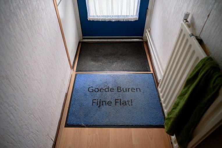 Er zijn ook bewoners die zich thuis voelen in Smitsveen. Beeld