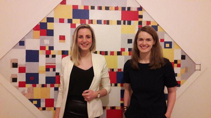 Lisanne Halleriet (links) en Judith Kadee.