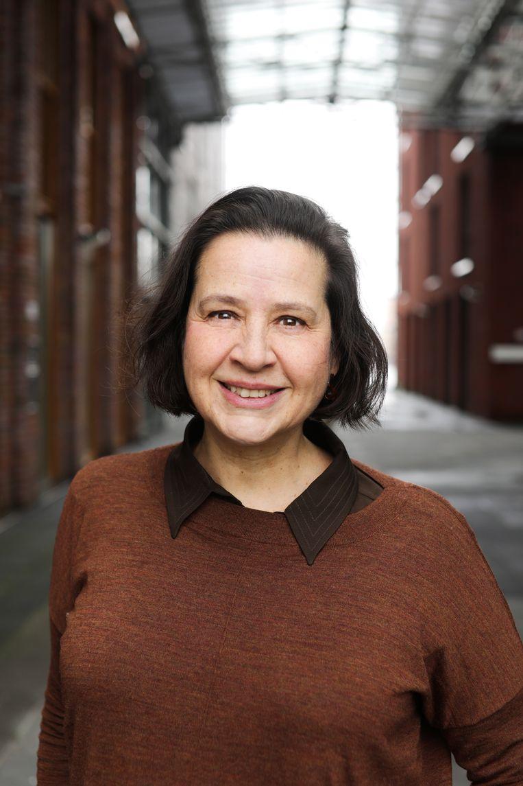 Annabelle Birnie, directeur Amsterdams Fonds voor de Kunst sinds mei 2017. Beeld Eva Plevier