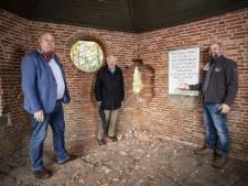 Ondernemers springen in de bres voor vernielde theekoepel bij De Lutte
