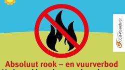 Tijdelijk rookverbod in provinciaal domein van Puyenbroeck wegens droogte