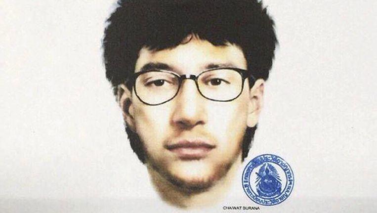 De politie verspreidde deze foto van de hoofdverdachte en krijgt nu toch hulp van Interpol.