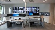 Grote videowall en eigen schietstand