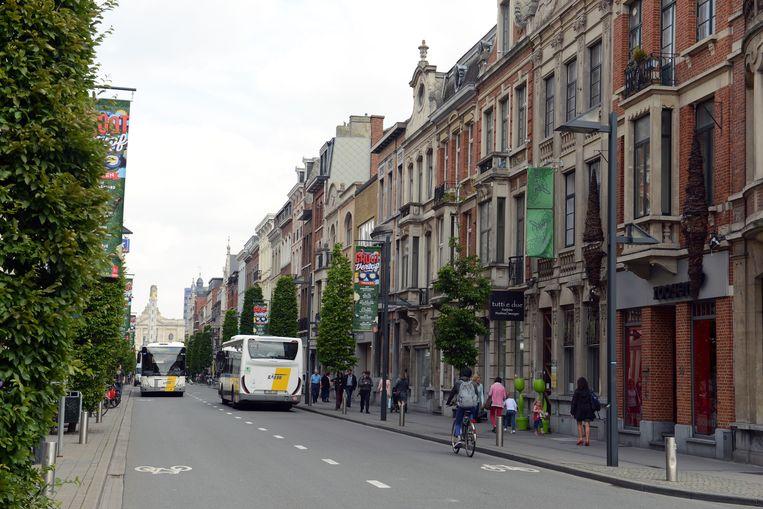 De Bondgenotenlaan in Leuven is beschermd als stadsgezicht.