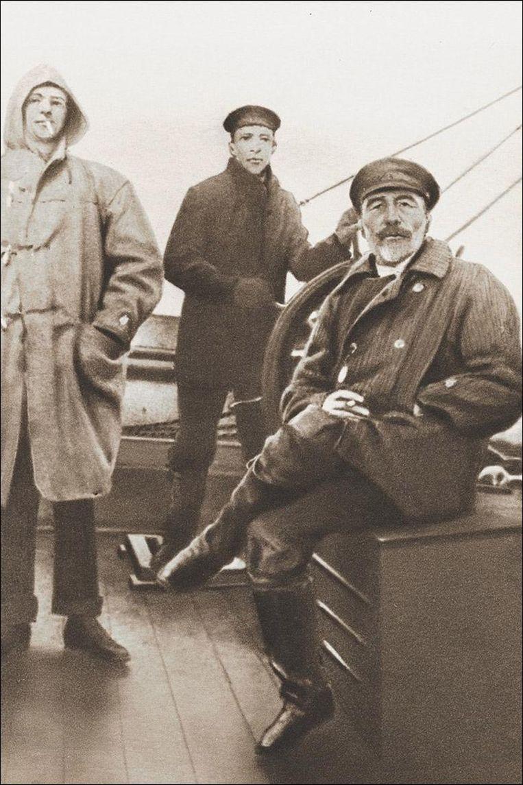 Joseph Conrad Beeld Getty
