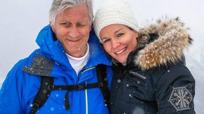 Koning Filip en Mathilde zijn nog op skiverlof, maar hun volgende uitje staat al gepland