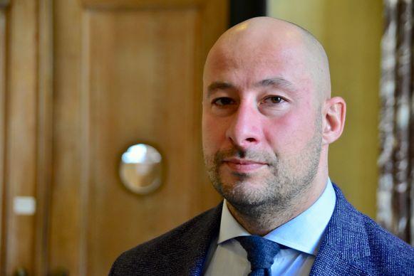 Advocaat Thomas Vandemeulebroucke verdedigt de 39-jarige Ridouane O., die op dinsdag 5 november 2019 in Aalbeke zijn 36-jarige ex-partner om het leven bracht.