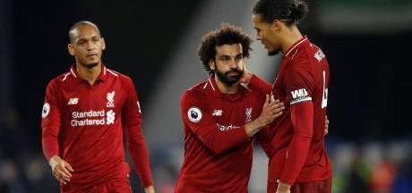 Liverpool houdt Manchester City goed bij, Van Dijk speelt 'gewoon' 90 minuten