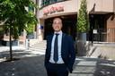 General manager Dimitri Kalaitzis is blij dat het nieuwe hotel nu eindelijk open kan. ,,We hadden hier met het hele team maanden naar toegeleefd.''