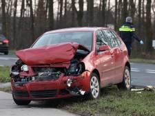 Twee automobilisten botsen in Veghel