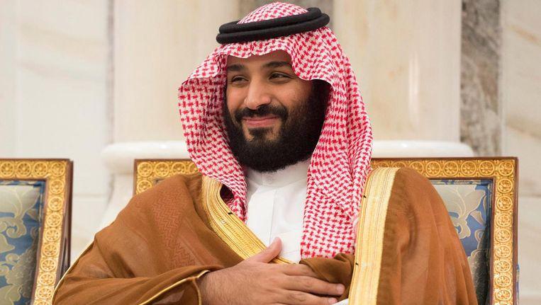 Prins Mohammad bin Salman. Beeld null
