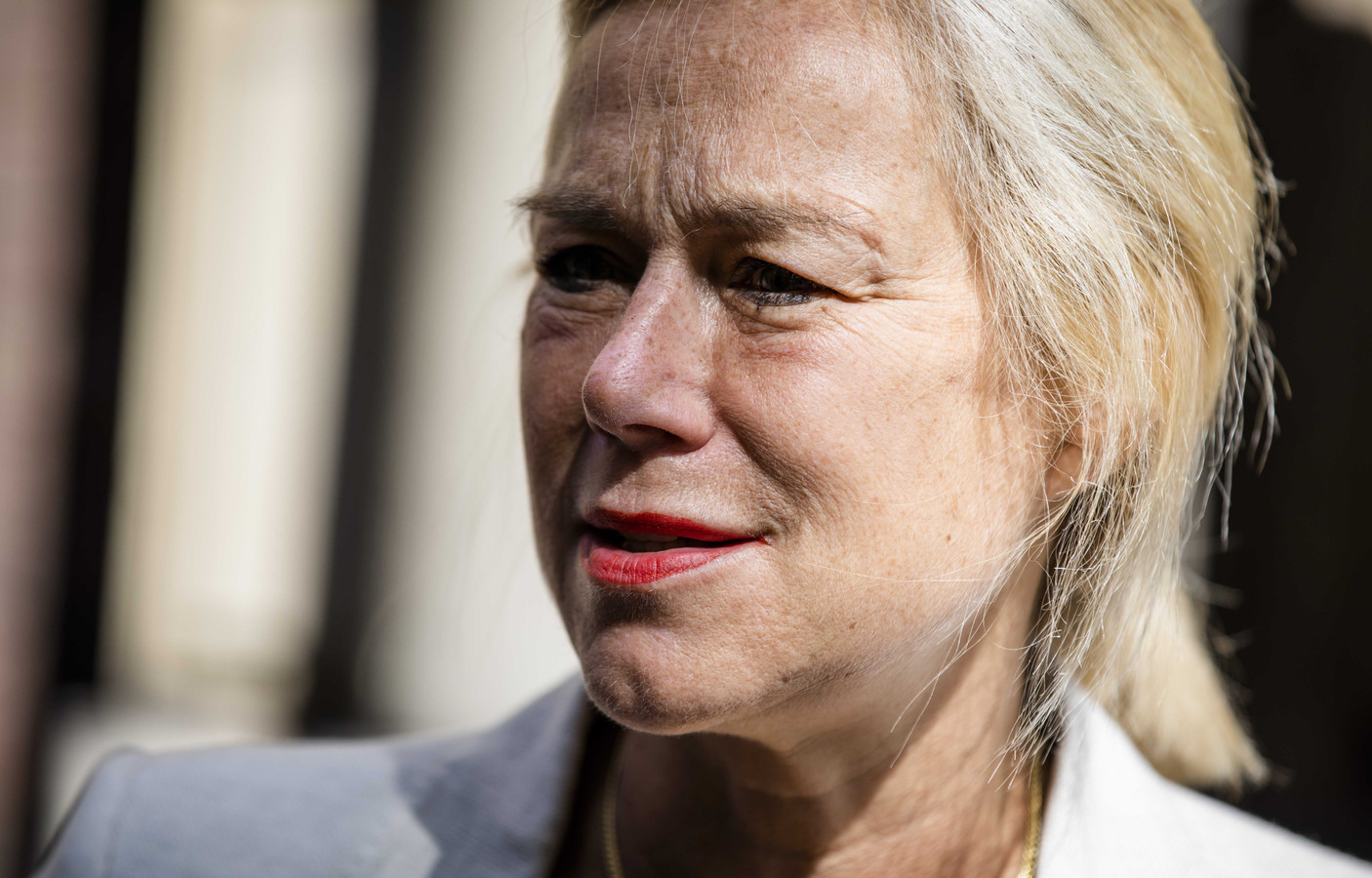 Minister Sigrid Kaag voor Buitenlandse Handel