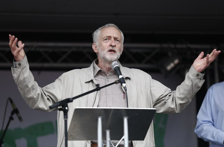Jeremy Corbyn. Beeld AFP