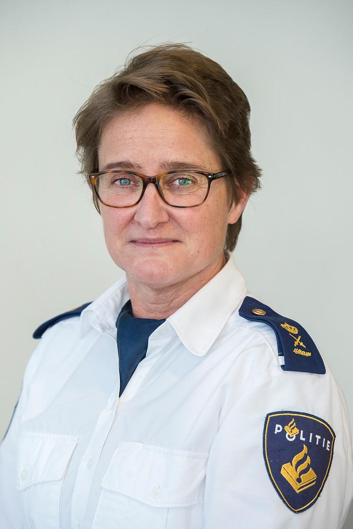 Politiechef Hanneke Ekelmans vindt de doodsbedreiging kenmerkend voor de 'verharding van de criminaliteit in Brabant'.