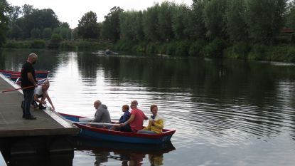 Eerste roeibootjes varen uit op Grote Bassin