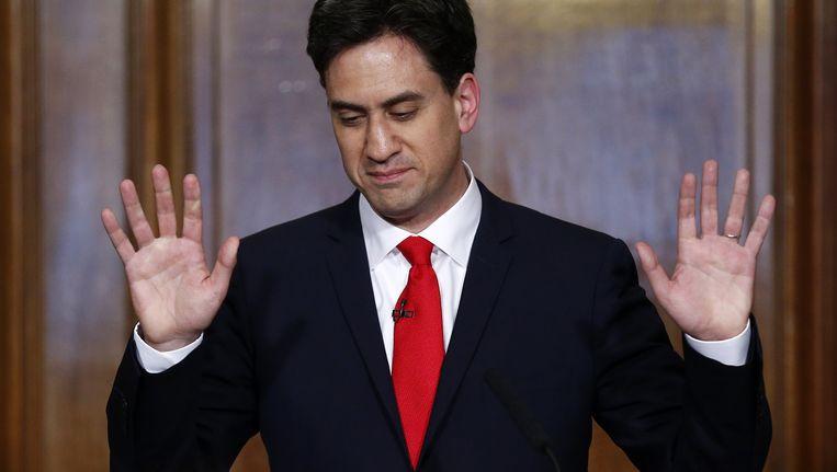 Ed Miliband is binnenkort Labour-voorzitter af, de strijd om zijn opvolging kan beginnen.