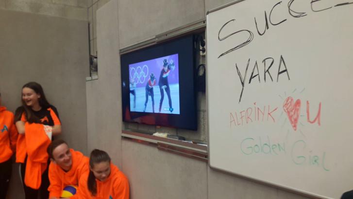 Docenten en leerlingen juichen voor Yara van Kerkhof: 'Ze is een topper!'