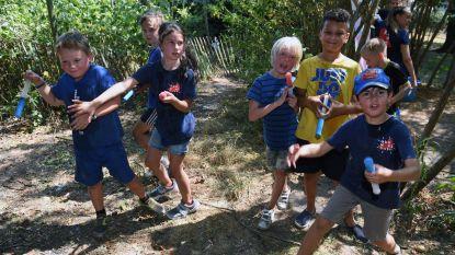 Kinderen laten zich gaan op 'Vuile Kleren dag'