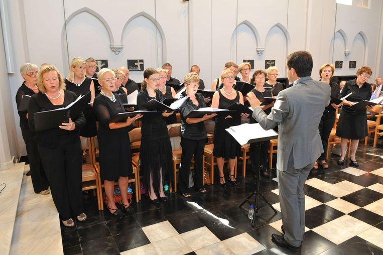 Het koor Terpsichore