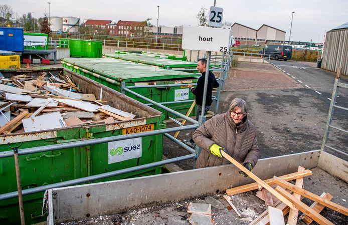 Foto ter illustratie, dit is niet het Zoetermeerse grofvuildepot.