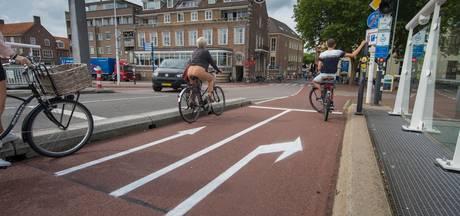 Belijning blijft op Stadsbrug Kampen