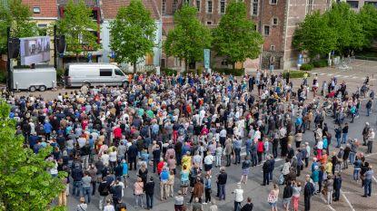 AFSCHEID PAUL SEVERS: Drieduizend mensen zakten af naar Halle voor eerbetoon aan Paul Severs