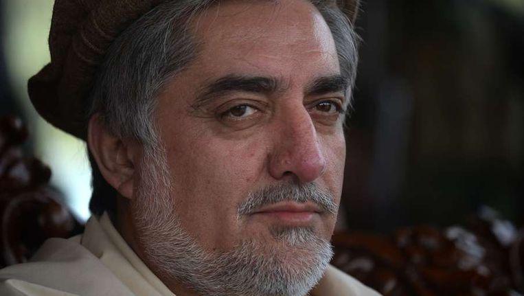 Afghaanse presidentskandidaat Abdullah Abdullah. Beeld afp