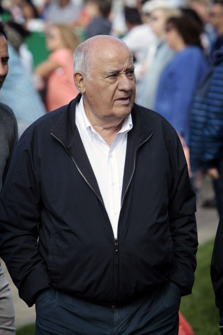 Amancio Ortega is de derde rijkste man van de wereld. Beeld ANP