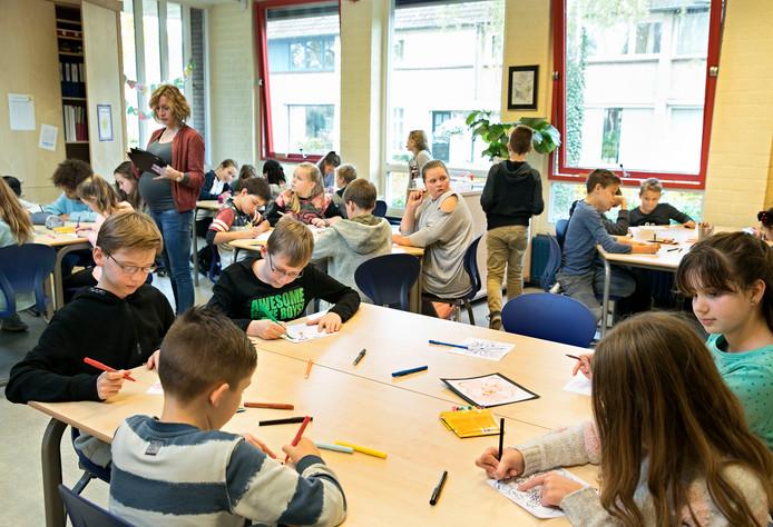 Leerlingen van De Handreiking werkten mee aan Glow.