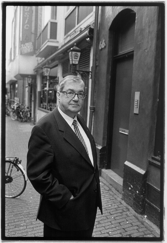 Hans Gruijters in 2001. Beeld Bob Bronshoff / HH