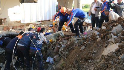 39 gewonden (en 1 gered schaap) bij aardbeving in Turkije