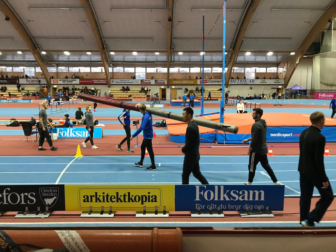 Samen trainen in Stockholm.