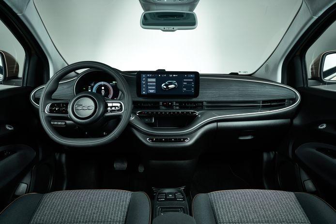 Volgens Olivier Francois is de bediening van de Fiat 500e 'zo simpel als een smartphone'