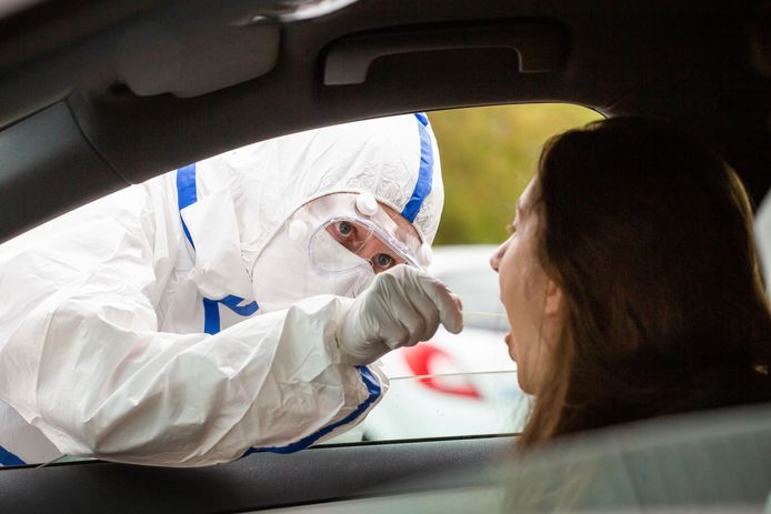 In Twente is 0,5 procent van de mensen die zich laten testen besmet met corona.
