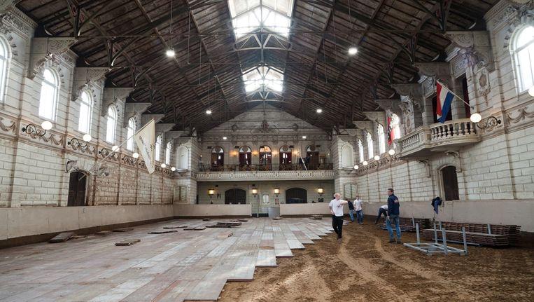 De Hollandsche Manege wordt vaker gebruikt voor evenementen. Beeld Roï Shiratski