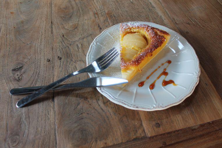 De befaamde 'tarte bourdaloue', wat de inspiratie vormde tot de naam van de koffiebar.