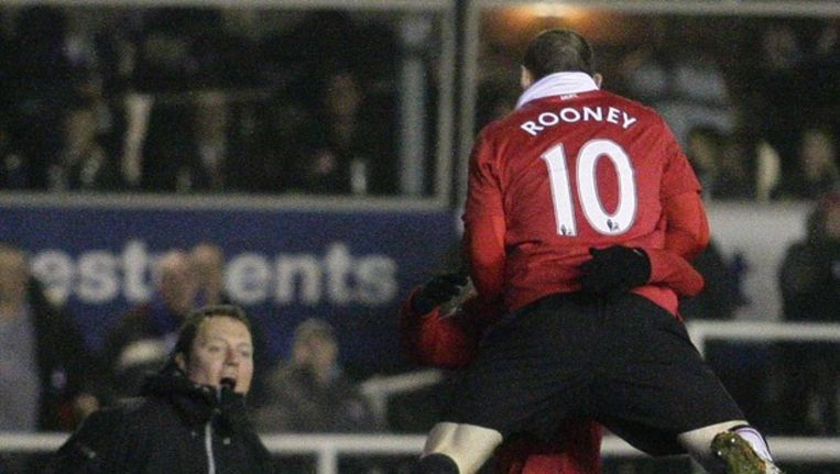 Wayne Rooney van Manchester United Beeld epa