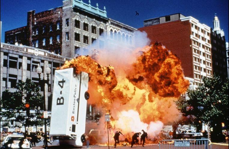Bomaanslag in Blown Away. Beeld Kevin Toma