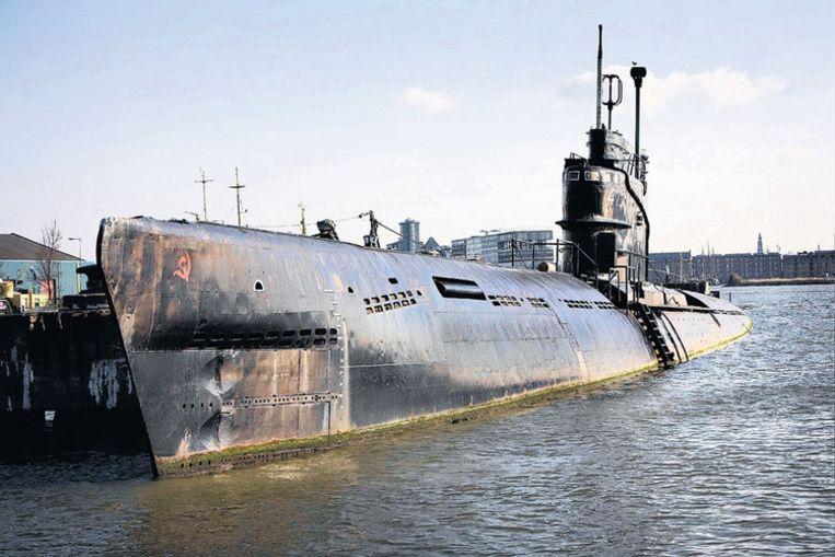 De in 1956 in Riga gebouwde Foxtrot, een onderzeeër uit de Zuluklasse. Foto Floris Lok Beeld