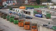 Recyclagepark sluit uurtje vroeger wegens hitte