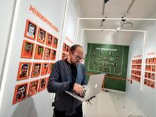 Ode aan Cruijff in voetbal-expo in Openluchtmuseum