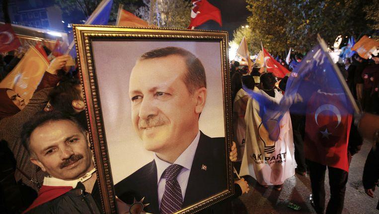 Recep Tayyip Erdogan. Beeld ap